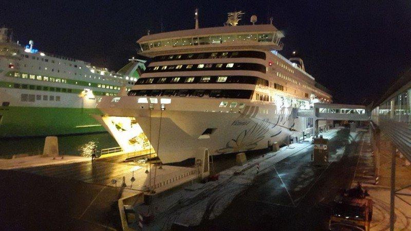 Boarding M/S Victoria I to Stockholm! #BalticTR