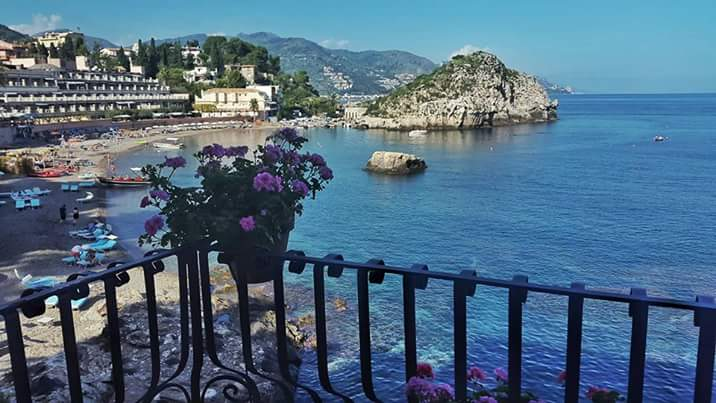Taormina, the Bay of Mazzaro