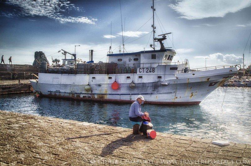Aci Trezza, Sicily, fisherman