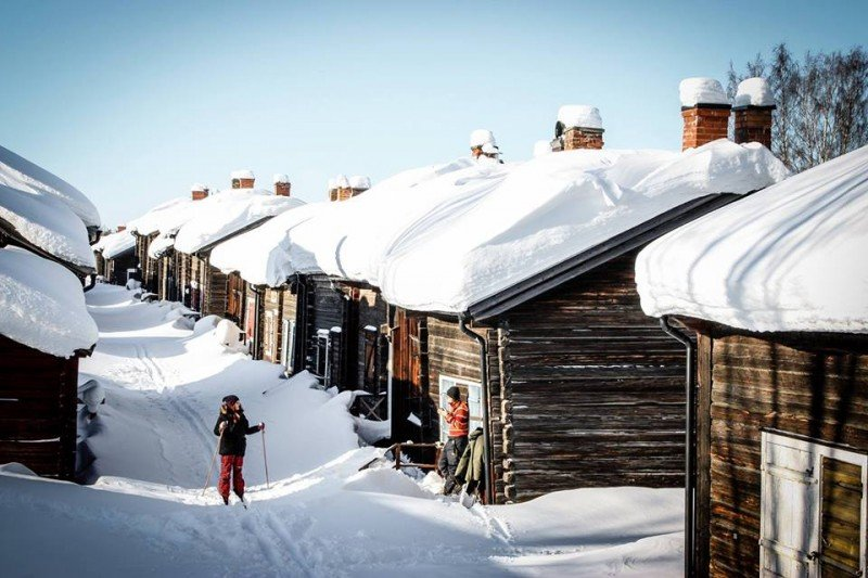 Swedish Lapland: if this isn't awesome, I don't know what is. Photo © Edoardo Miola