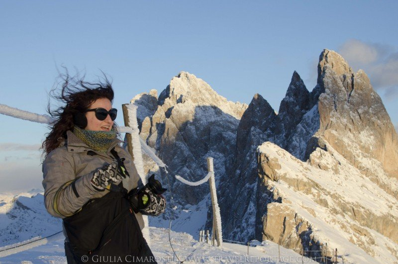 Me on the Seceda - Dolomites Italy