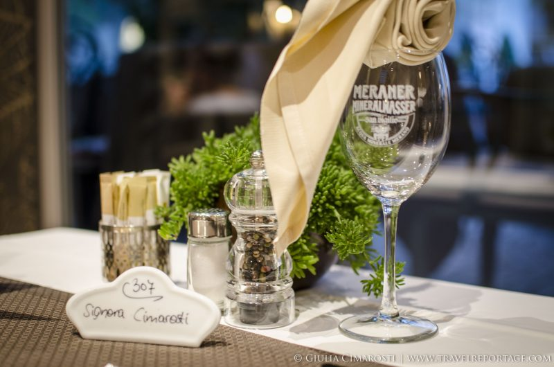 Vinschgau Valley - Restaurant: personalized mise en place