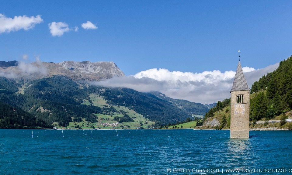 All about Reschensee, a.k.a. Lake Reschen