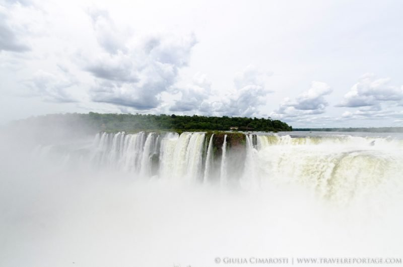 The Iguazu Falls on the Argentinian side