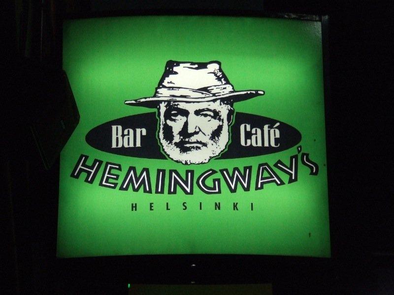Hemingway's bar cafe, Helsinki, Finland