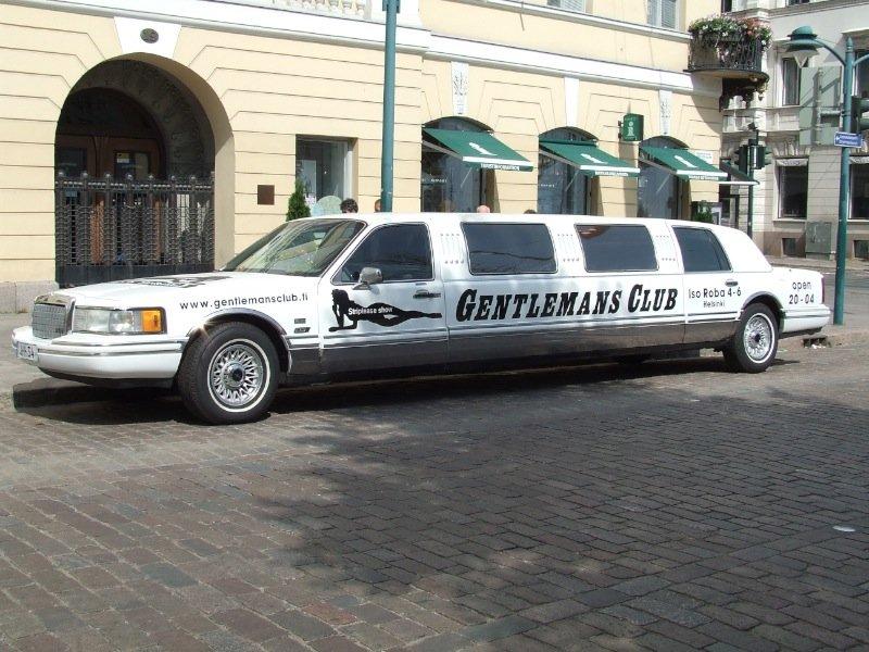 Gentlemans Club Limousine, Helsinki, Finland