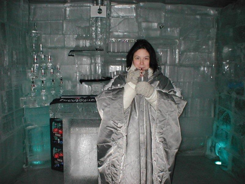 Ice Bar, Helsinki, Finland