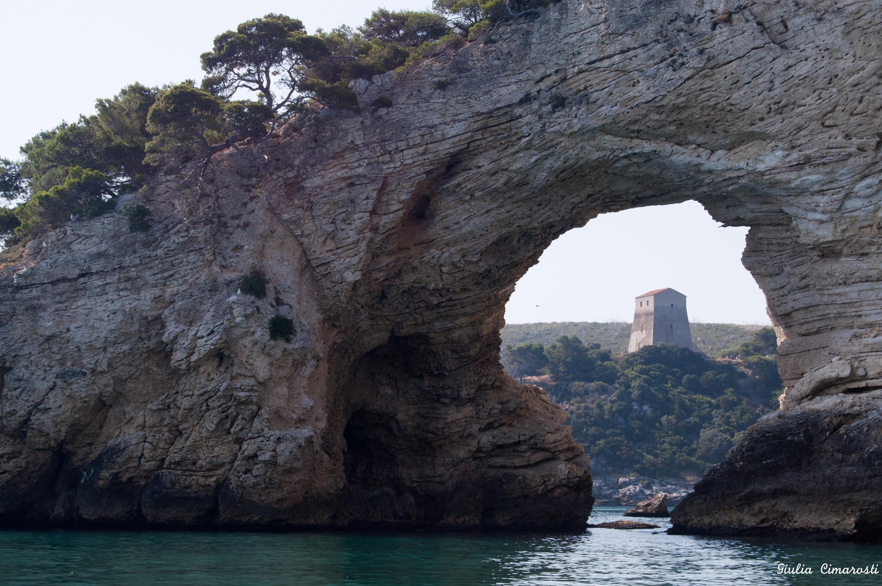 Rock arch, Gargano, Apulia