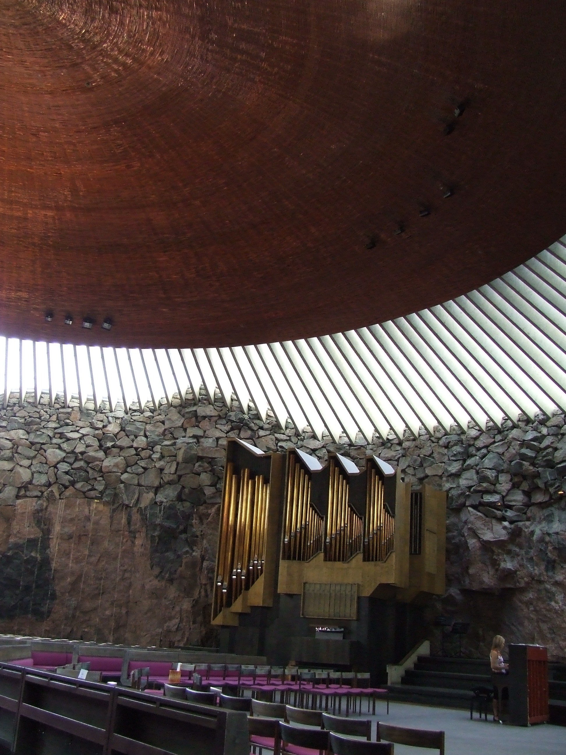 "Temppeliaukio ""The Rock Church"", Helsinki"