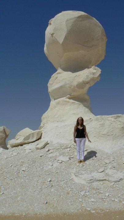 Me in the White Desert, Egypt