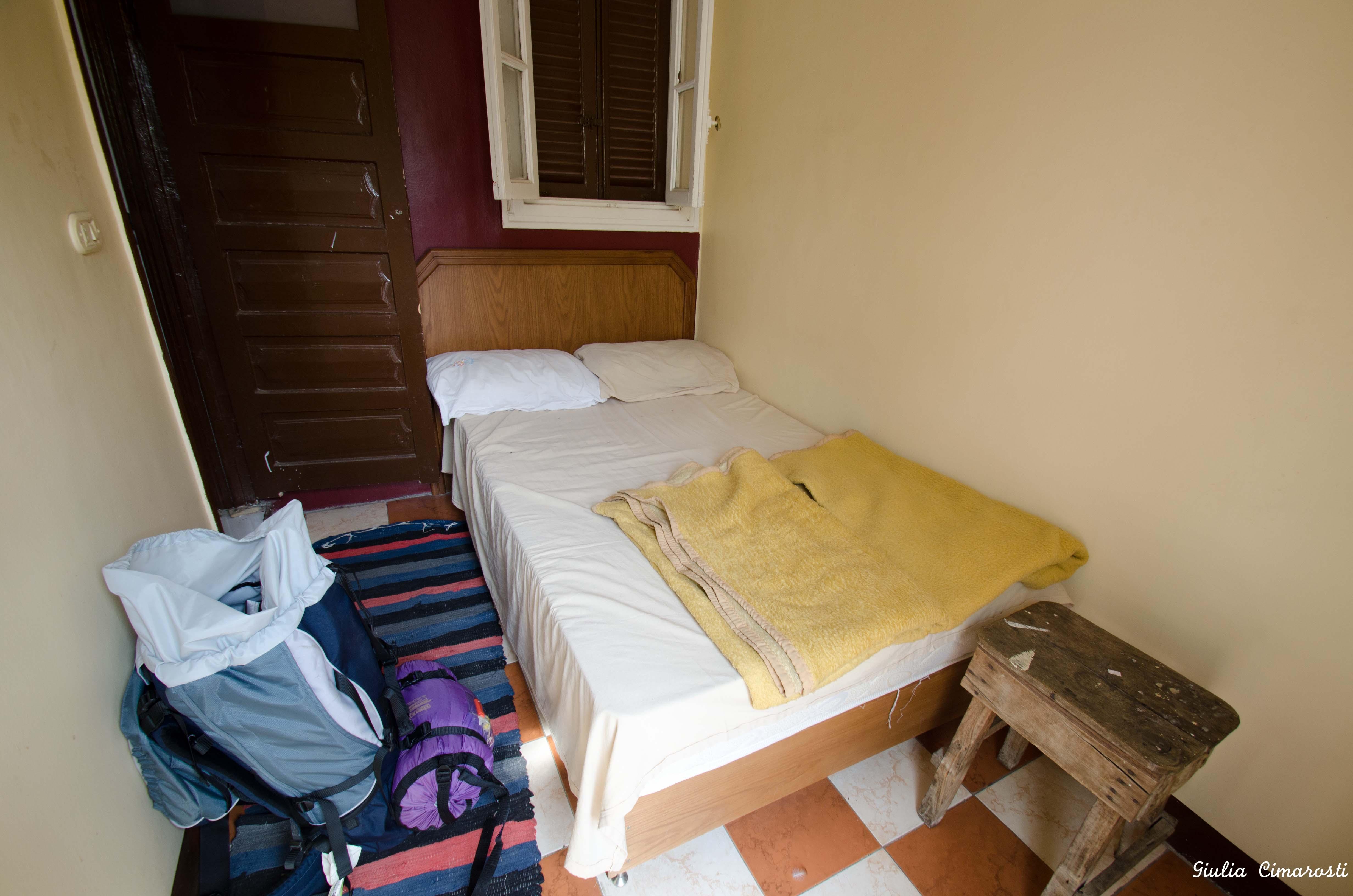 Dahab Hostel room, Downtown Cairo, Egypt