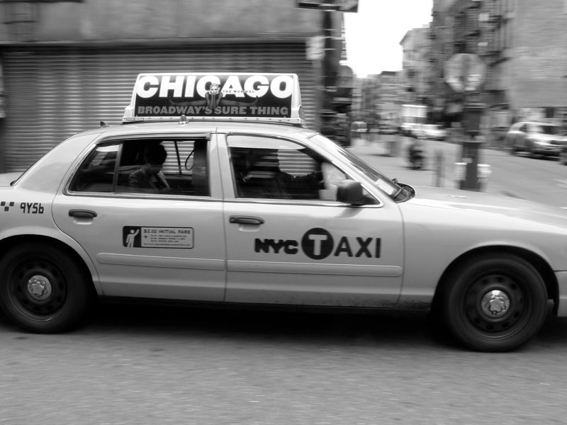 New York City Taxi - panning