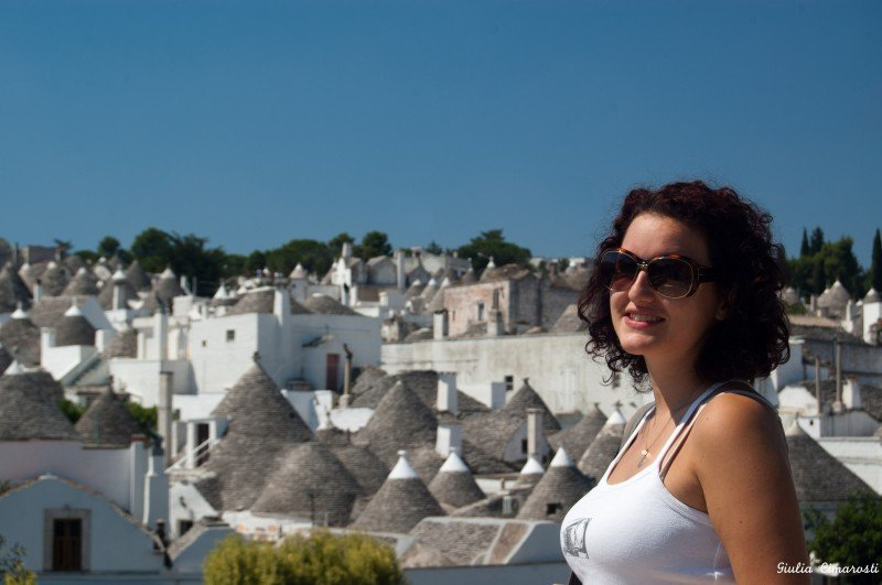 A view over the Trulli of Alberobello
