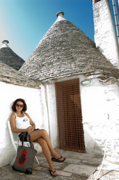 Me flirting with a Trullo/2