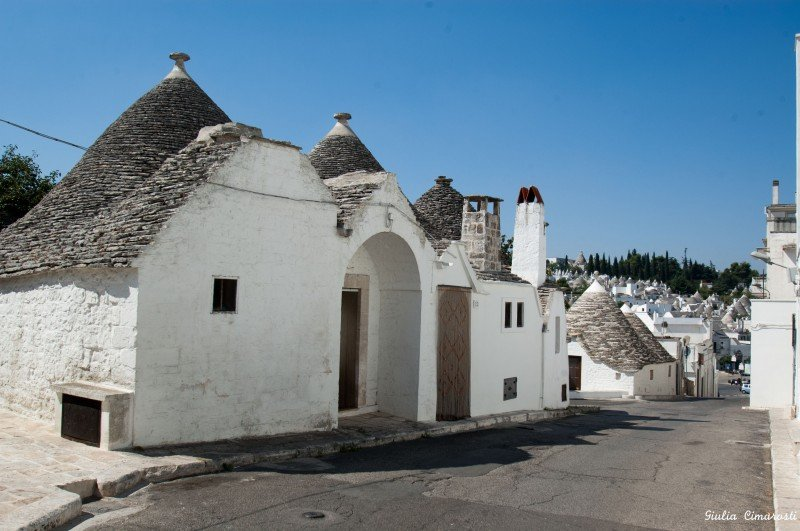 On the way to Alberobello center