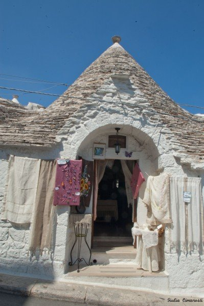 Another relaxing view of a Trullo in Alberobello