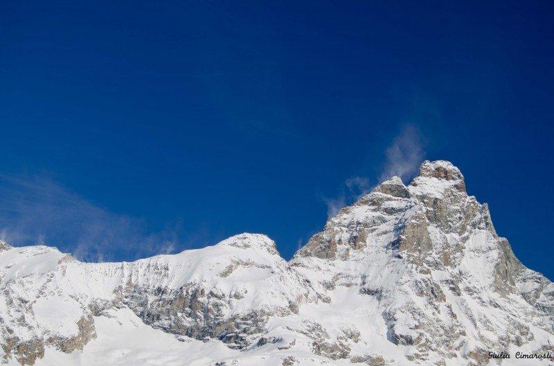 Wind on Mount Cervino