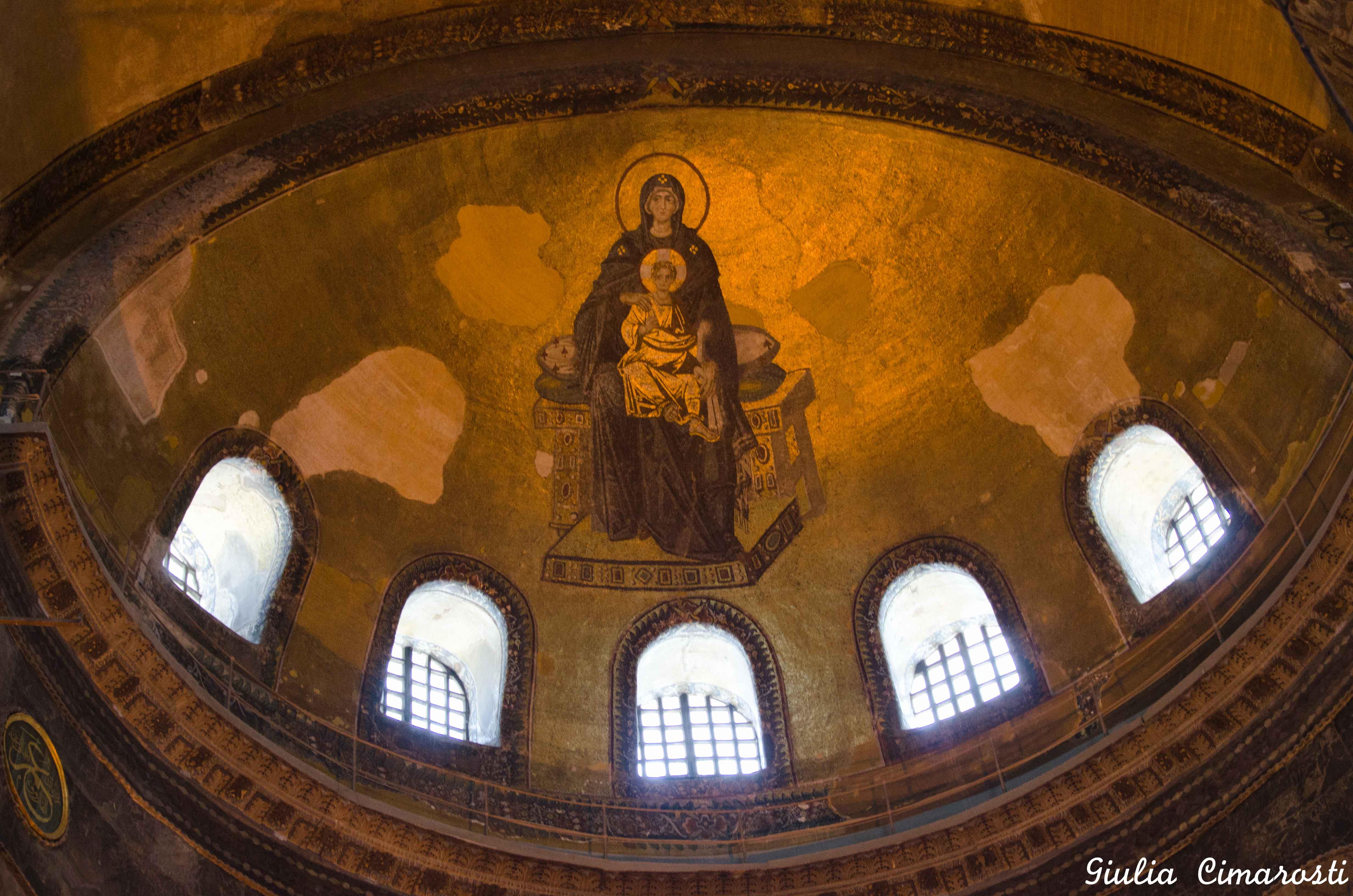 Pagan symbols in Hagia Sophia