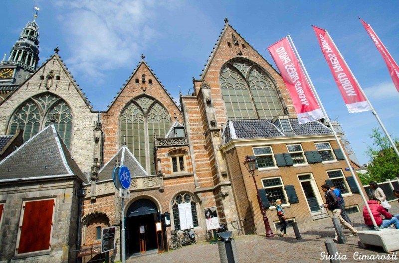 World Press Photo exhibit at Oude Kirk, Amsterdam