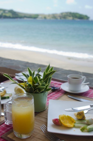 Breakfast in Bequia