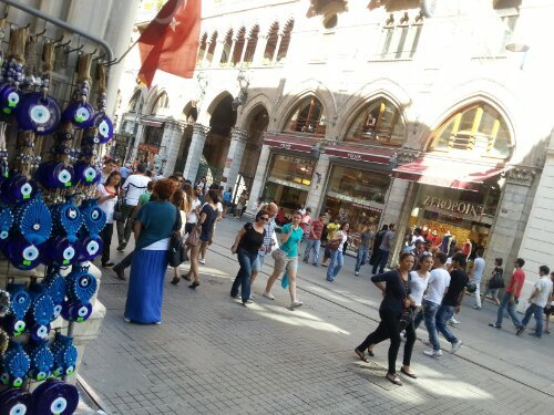 Greetings from Istiklal Caddesi
