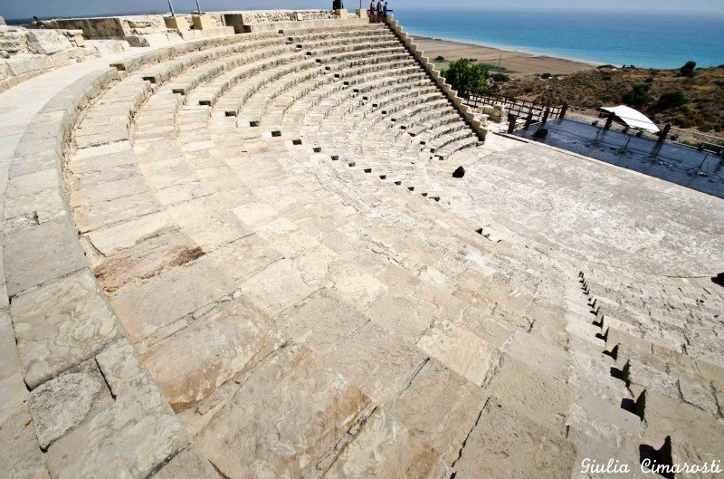 The Kourion amphitheater, Cyprus