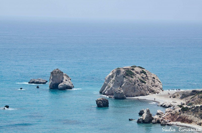Petra tou Romiou, Cyprus - where Aphrodite was born
