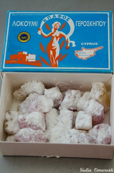 Loukoumi Yeroskipou, the original ones!