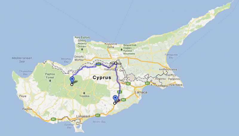 Cyprus road trip, day three: Skarinou to Nicosia and Kakopetria