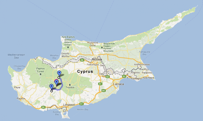 Cyprus road trip, day four: Kakopetria to Platres and Omodos