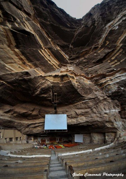 The Cave Church, Garbage City, Cairo