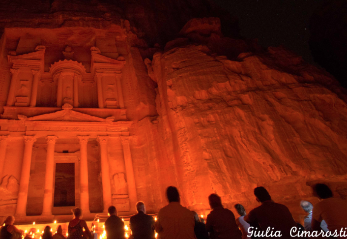 Petra by night, joy for the soul