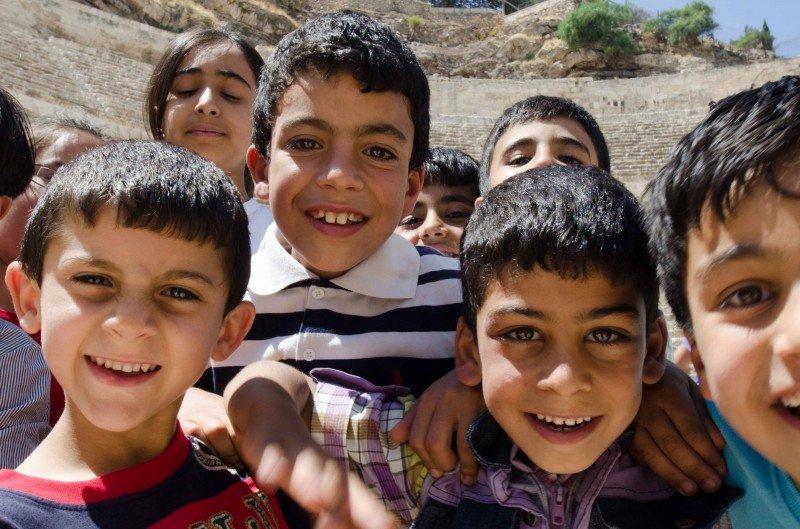 Jordanian smiles!