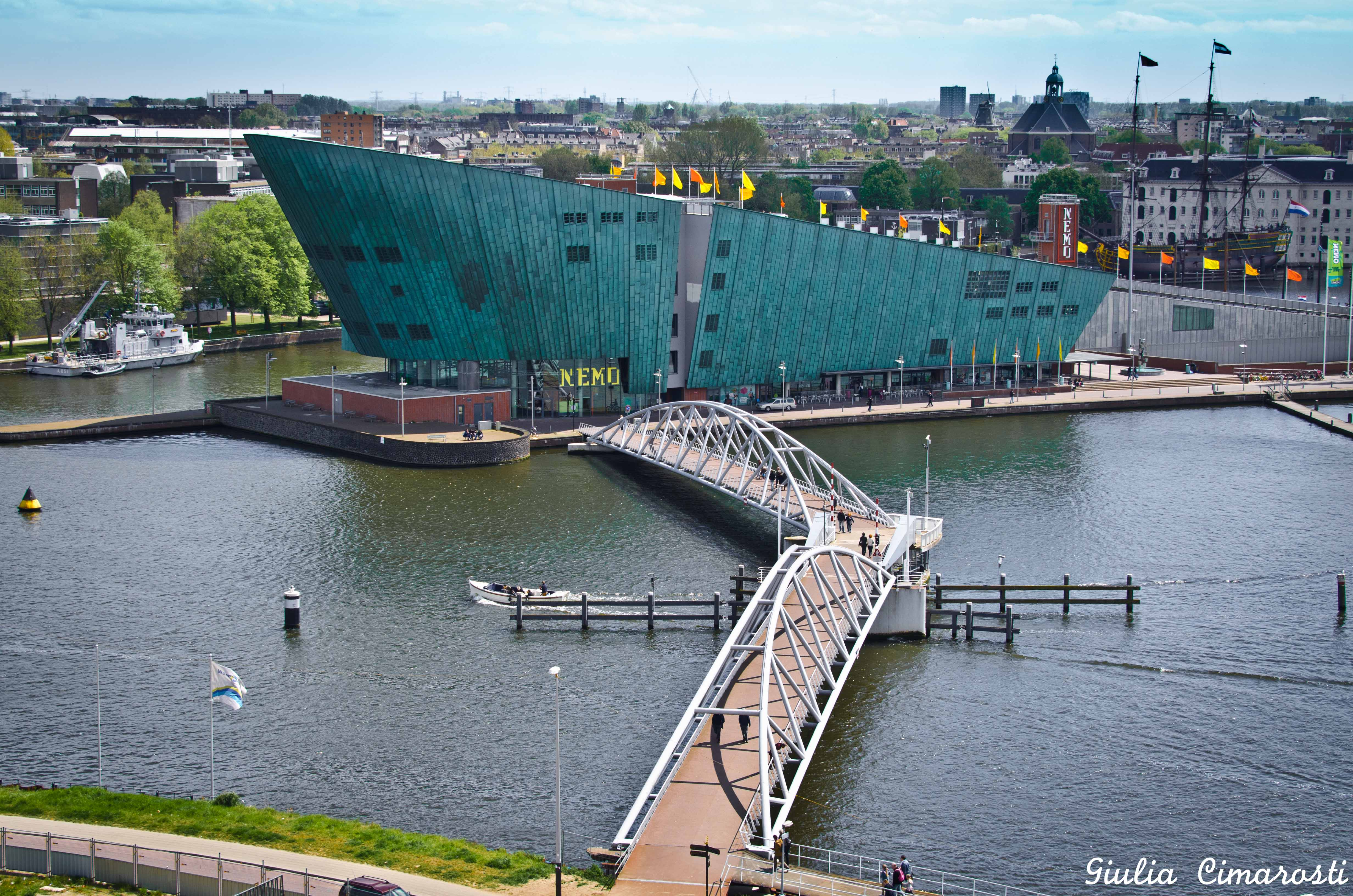 Photographing amsterdam from above for Bibliotheek amsterdam