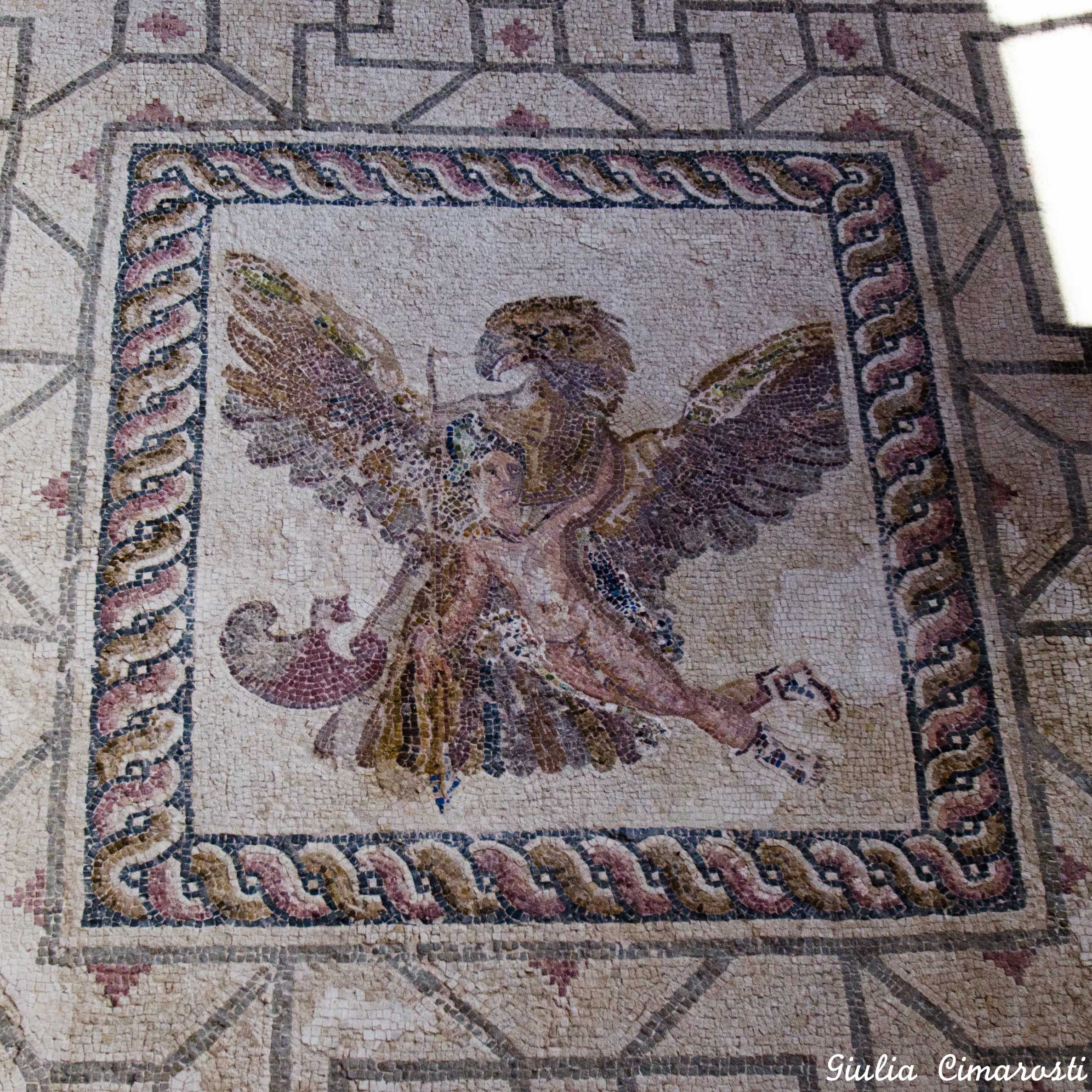 The mosaics of Pafos in Cyprus