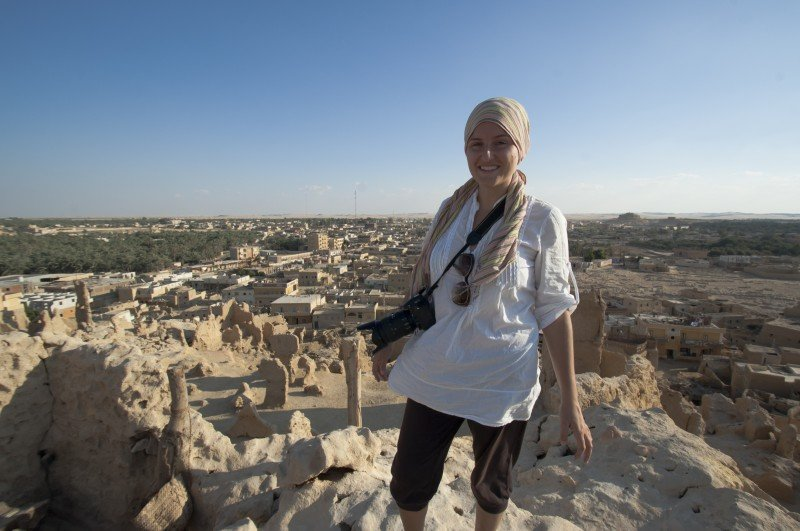 Me in Siwa - Stylish! NOT!