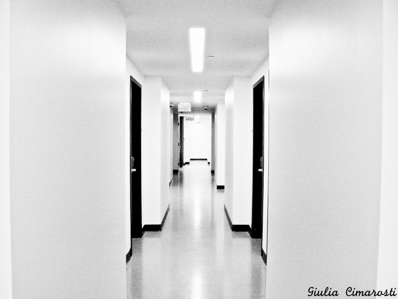 5: the corridor at my  new place - no motion