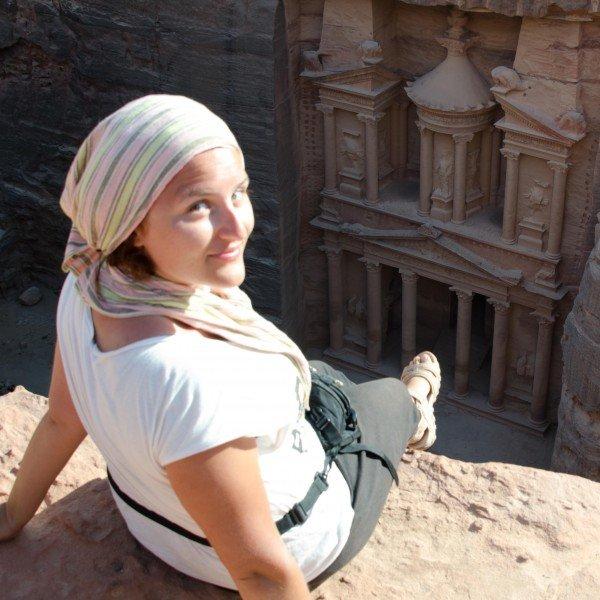 Me in Petra, Jordan