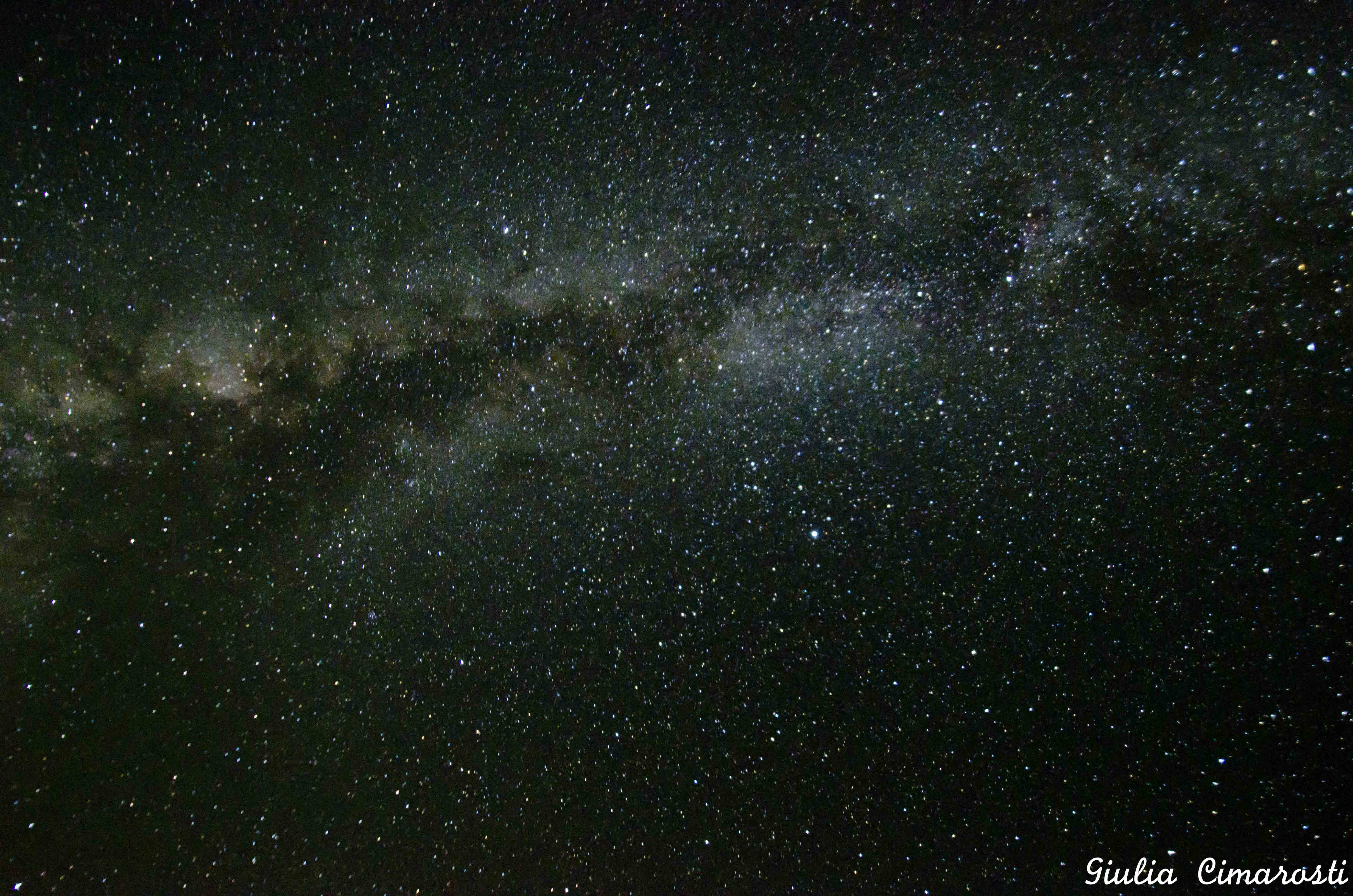 The Milky Way is my muse