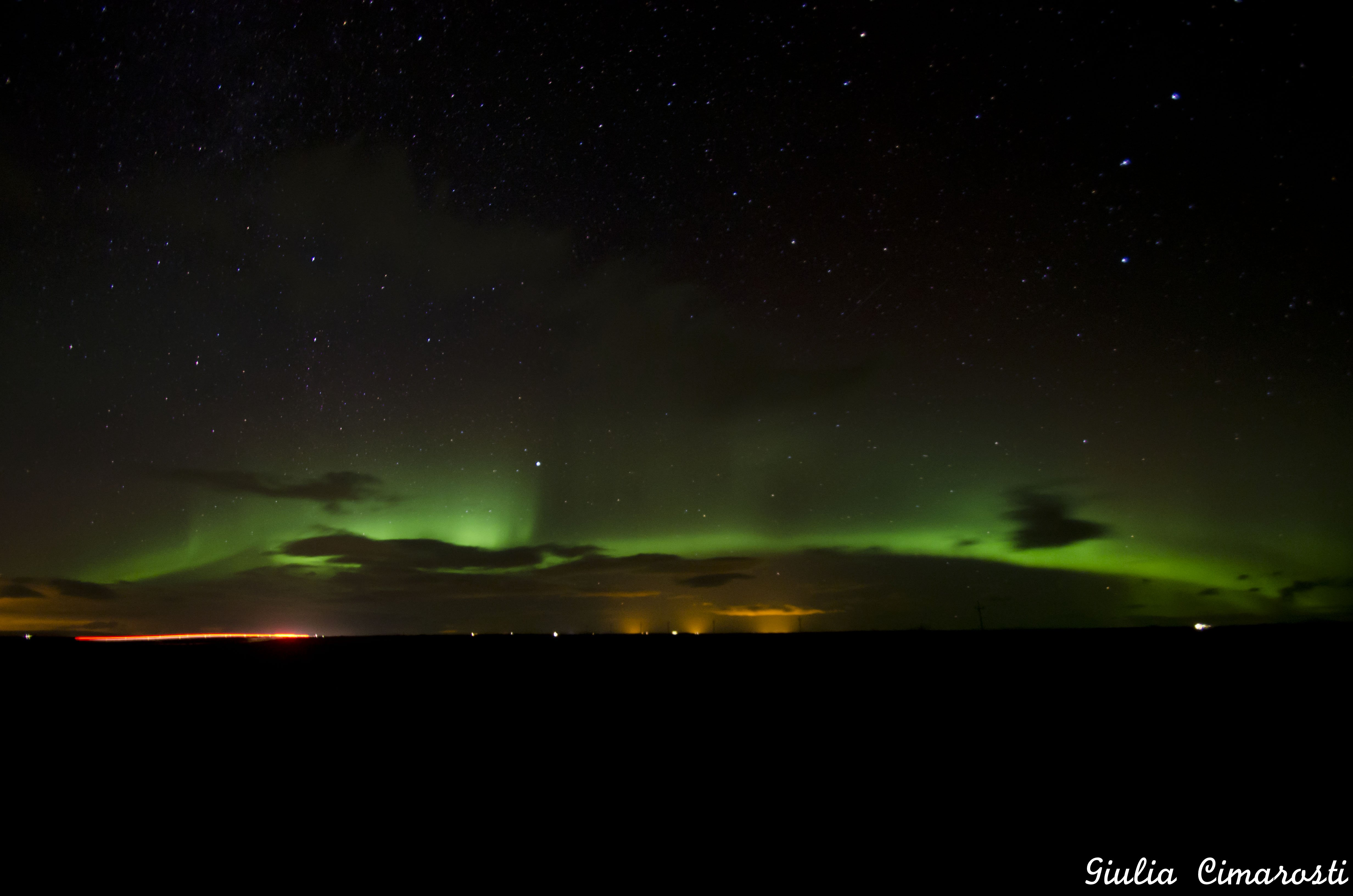 My first Northern Lights... I will never forget that moment!