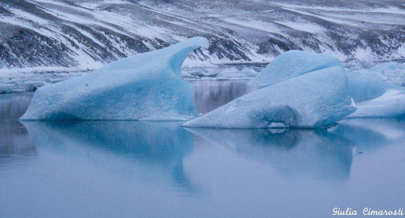 Jökulsárlón: icebergs