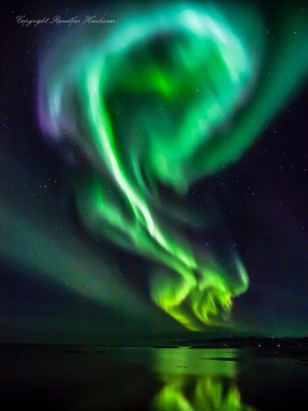Beautiful Aurora by Runólfur Hauksson