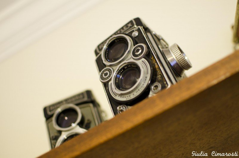 Vintage cameras in my bedroom