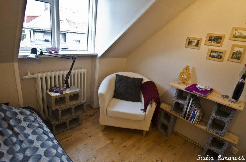My room in Reykjavik