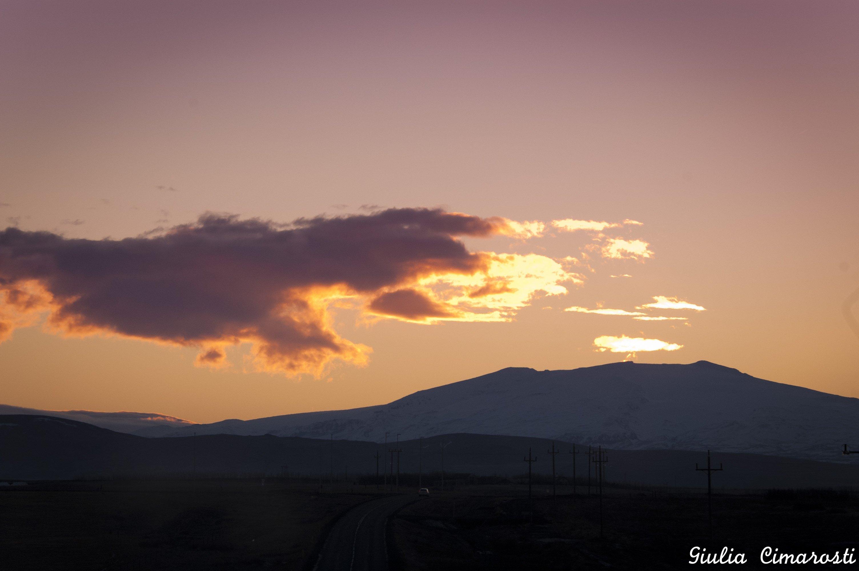 Eyjafjallajökull at sunrise