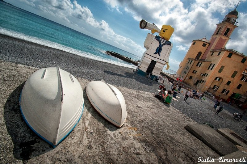 A wicked photo of Camogli