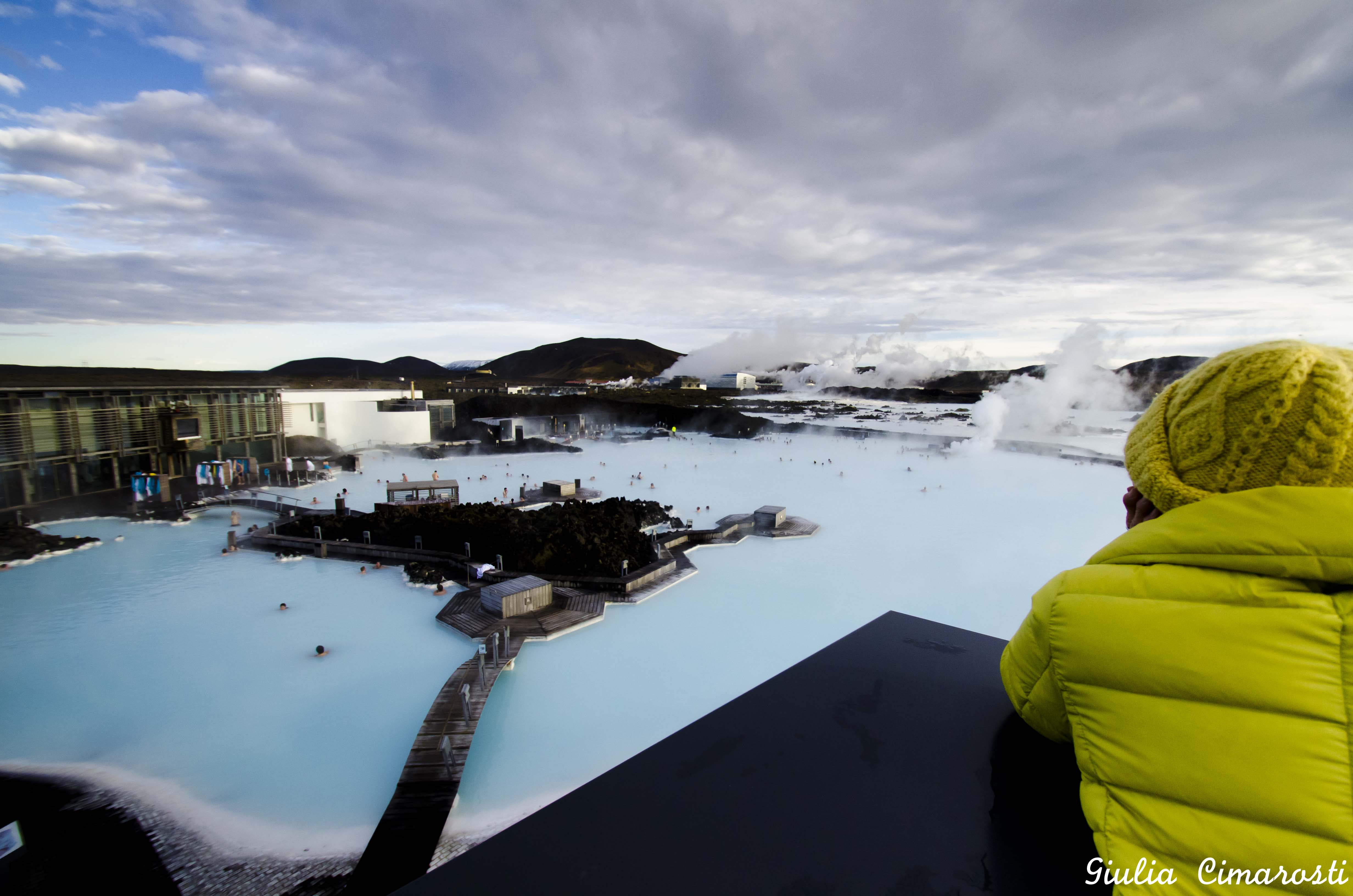 Bathing In The Blue Lagoon In Iceland But Is It Not Cold