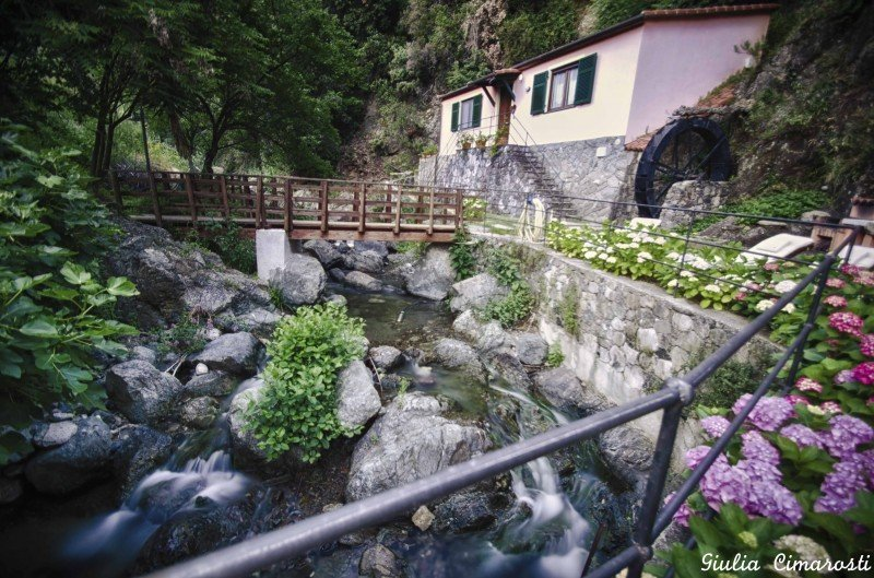 """Il Mulino"" - the mill where I slept"