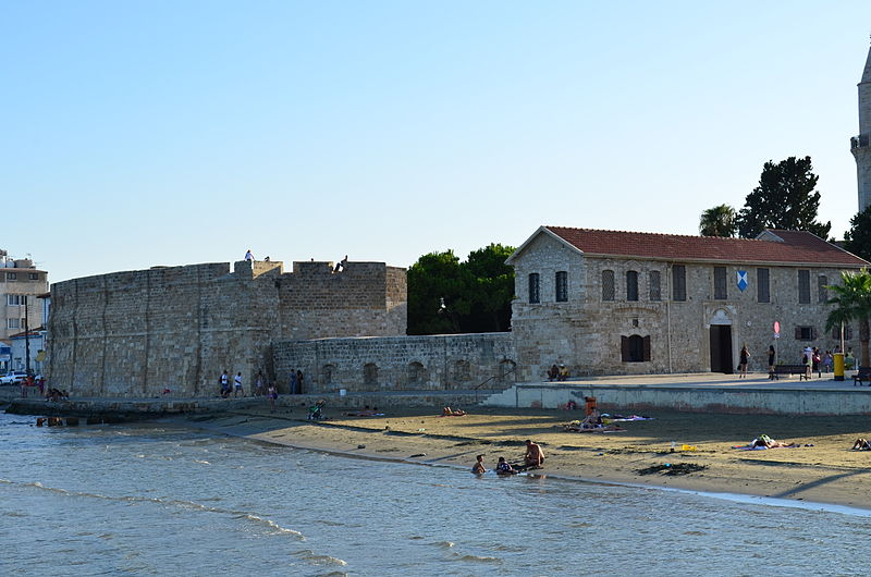 The Larnaca Fort - photo by Valantis Antoniades (Wikimedia commons)