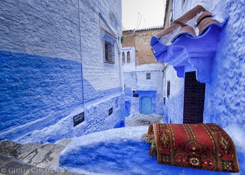 Red - Chefchaouen, Morocco
